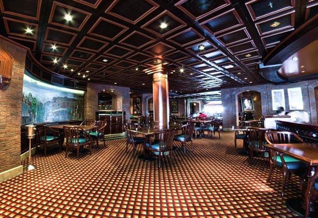 Альтернативный ресторан Bayou Cafe & Steakhouse