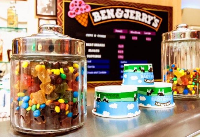Кафе-мороженое Ben & Jerry