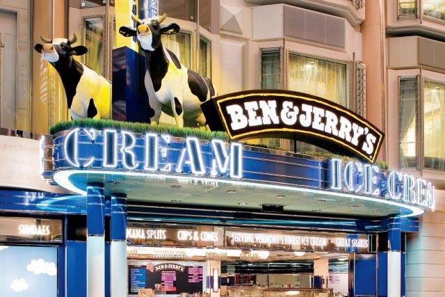 Кафе-мороженое Ben & Jerry's
