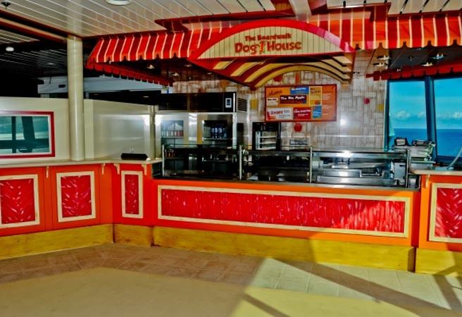 Кафе Boardwalk Dog House
