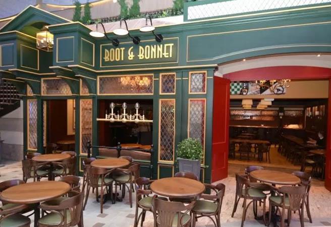 Английский паб Boot & Bonnet Pub