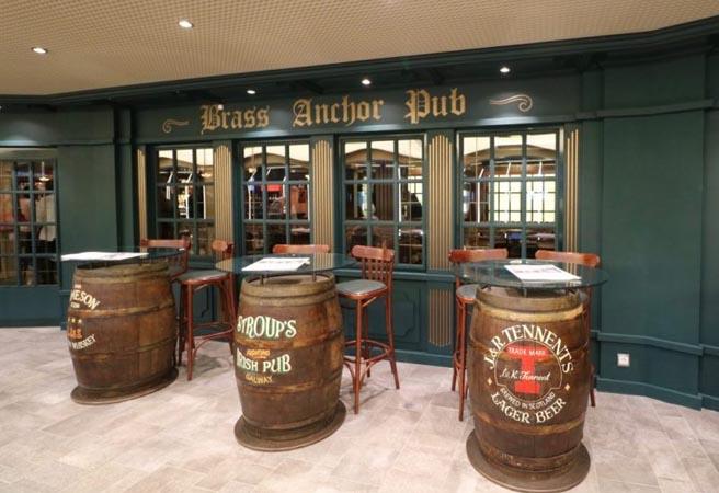 Бар Brass Anchor Pub