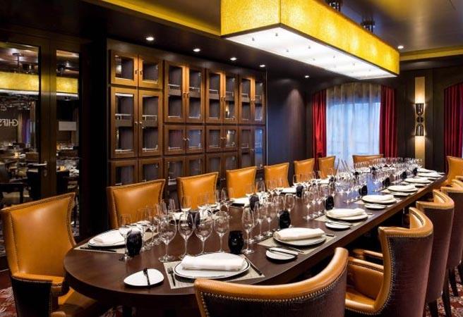 Альтернативный ресторан Chef's Table