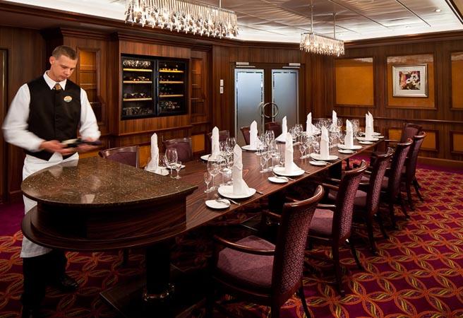 Альтернативный ресторан Chefs Table
