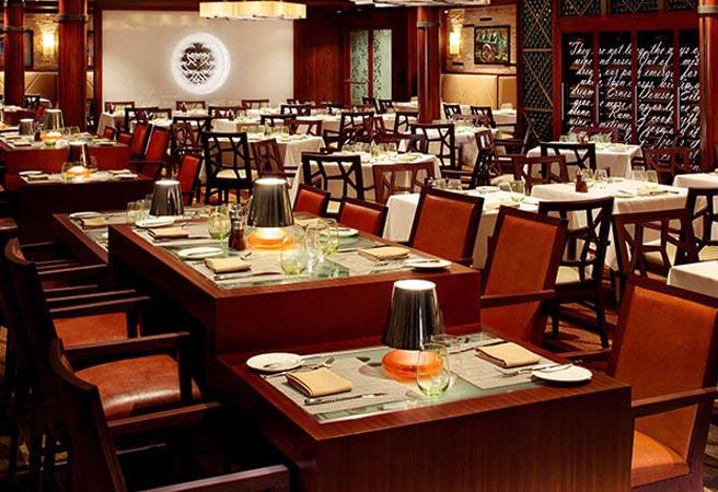 Частный ресторан Coastal Kitchen для сьютов
