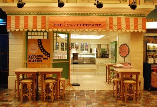 Кафе Cupcake Cupboard