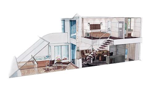 Сьют с балконом