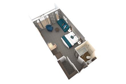 Junior Suites с балконом