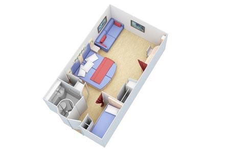 Внутренние каюты Family Interior