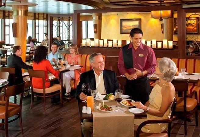 Альтернативный ресторан Giovanni's Table