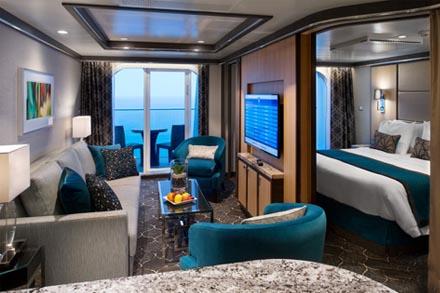 Grand Suite (2 спальни) с балконом