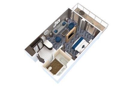 Grand Suite (1 спальня) с балконом