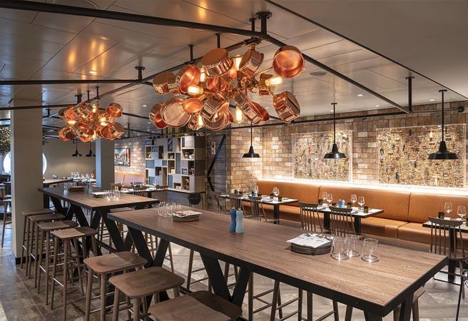 Альтернативный ресторан HOLA! Tapas bar