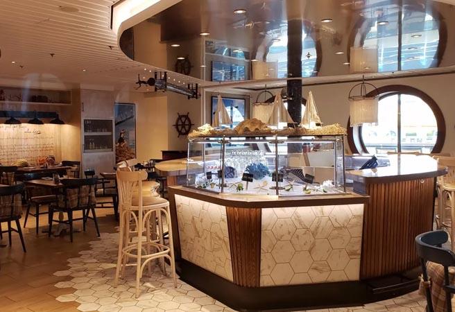 Альтернативный ресторан Hooked Seafood