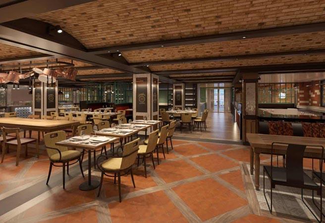 Основной ресторан Il Rugantino