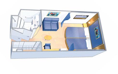 Внутренние каюты Interior