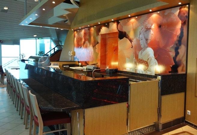 Альтернативный ресторан Izumi Hibachi & Sushi