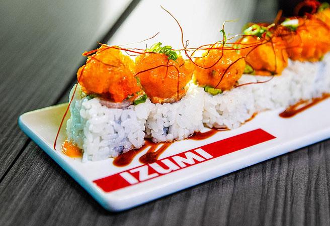 Альтернативный ресторан Izumi