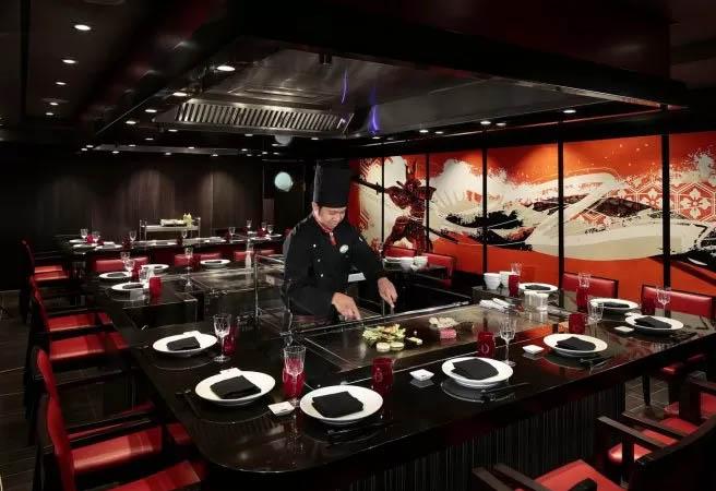 Альтернативный ресторан Izumi Hibachi