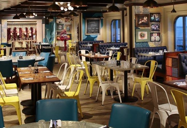 Альтернативный ресторан Jamie's Italian