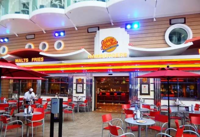 Альтернативный ресторан Johnny Rockets