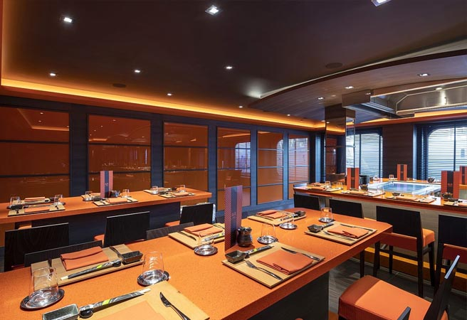 Альтернативный ресторан Kaito Teppanyaki