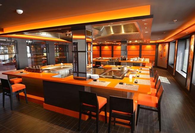 Альтернативный ресторан Kaito Teppanyaki Restaurant & Sushi Bar