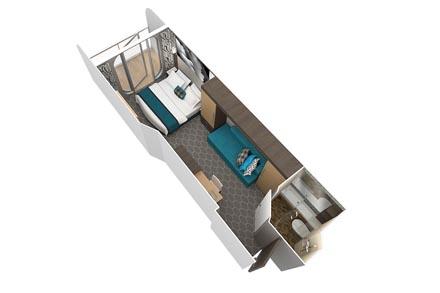 Каюта с балконом