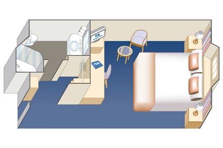 Каюты с окном (ограниченный обзор)