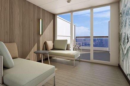 Каюта с балконом Terrace