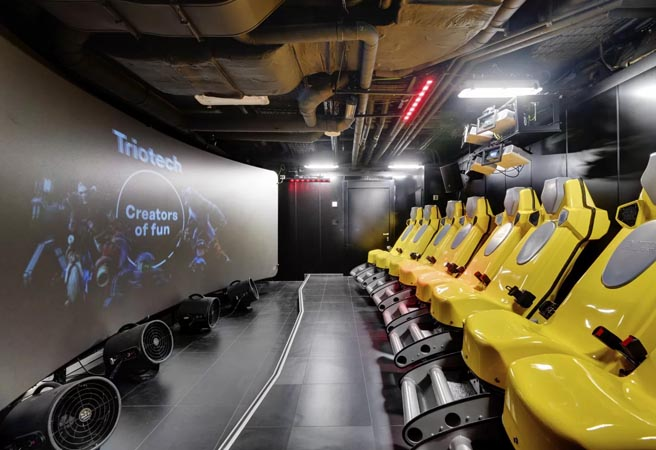 Кинотеатр Cinema 5D