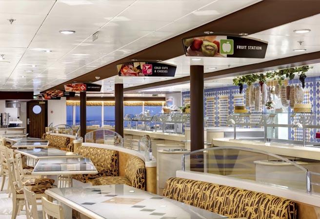 Ресторан-шведский стол La Terrazza Buffet