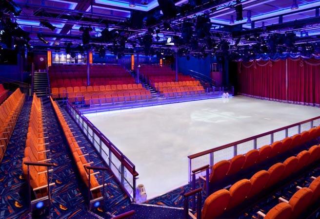 Ледовый каток в Studio B