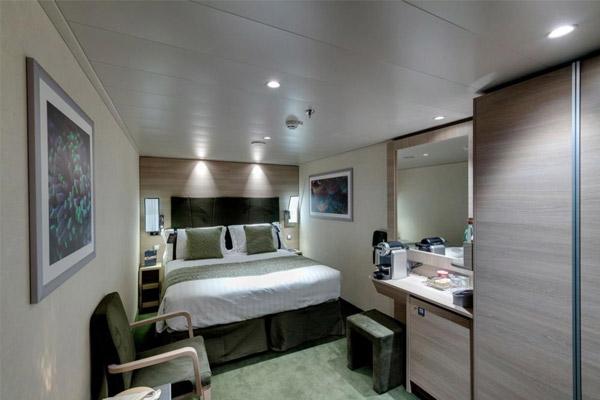 Сьют внутренний Yacht Club (YIN). 16 м2.