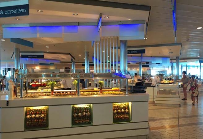 Шведский стол Oceanview Café & Grill