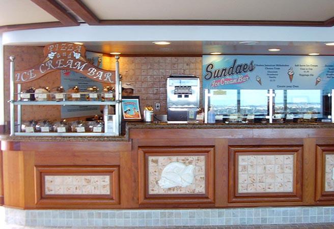 Кафе Pizza and Ice Cream Bar