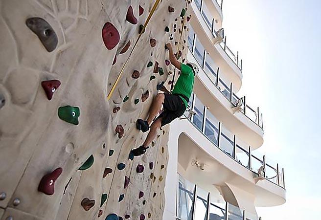 Стена для скалолазания Rock Climbing Well