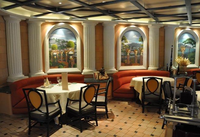 Альтернативный ресторан Sabatini's