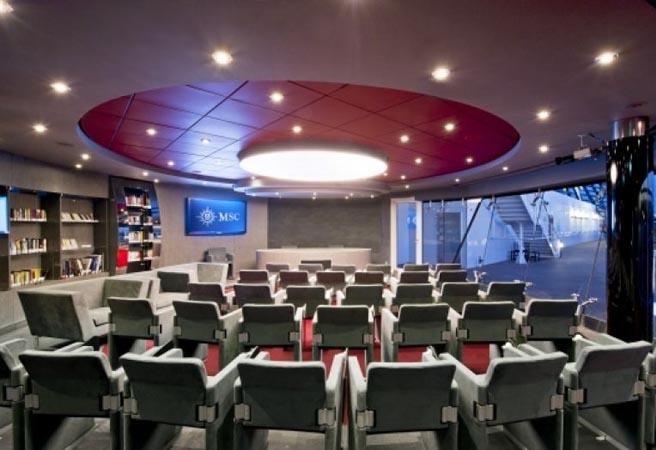 Библиотека и конференц-зал Sky & Stars