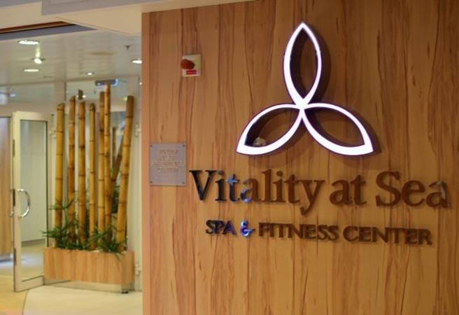Спа-салон Vitality at Sea Spa