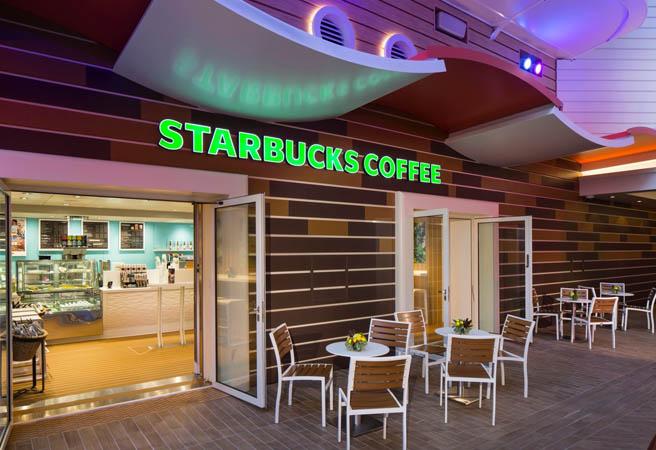 Кафе Starbucks