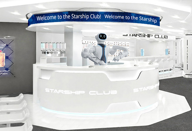 Бар MSC Starship Club