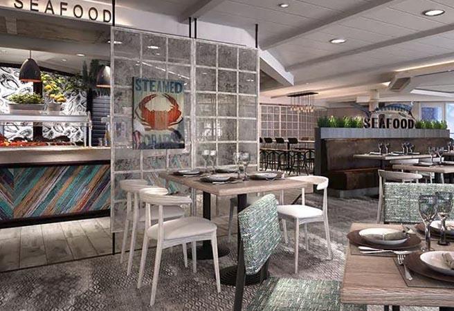 Альтернативный ресторан Steamers Seafood
