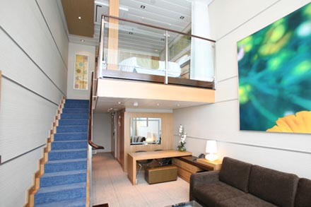 Star Loft Suite с балконом