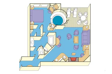 Сьют c балконом Grand Suite