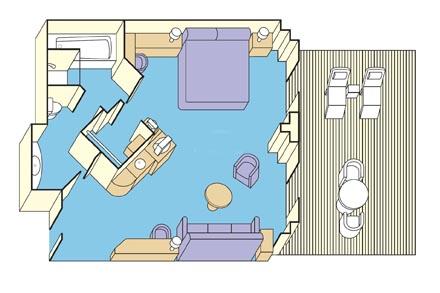 Сьют c балконом Vista Suite