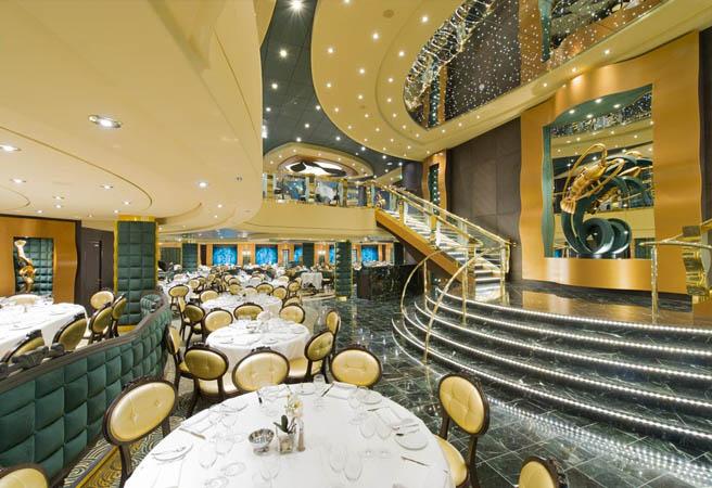Основной ресторан The Golden Lobster