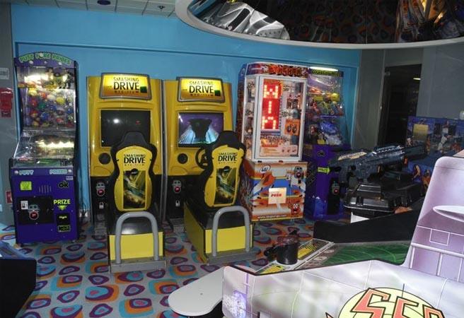 Зона мультимедиа Video Arcade