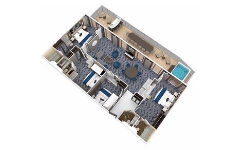 Villa Suite с балконом