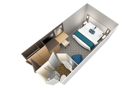 Внутренняя каюта с виртуальным балконом